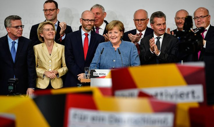 Angela Merkel Makes History in German Vote but So Does Far Right