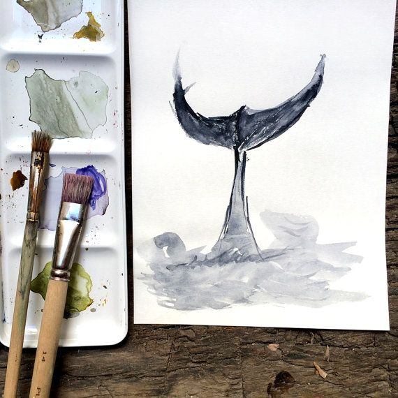 60 best images about whales on pinterest watercolors for Alex cherry flying whales wall mural