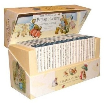 Beatrix Potter books- my absolute favorite from when I was little