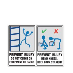 Injury Prevention Signs