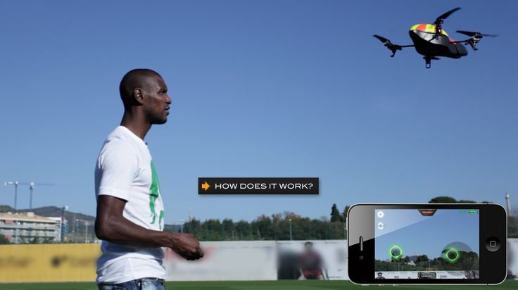 This thing looks awesome! A helicopter that you control with your iPhone!!! :)