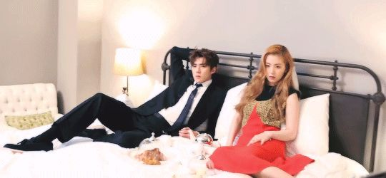 CéCi Magazine, February 2016 Issue : Making Film - Sehun with Irene of Red Velvet (1/2)