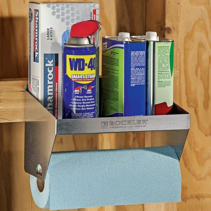 Rockler Shop Towel Holder In 2019