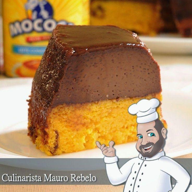 Bolo de Cenoura com Pudim de Chocolate - Mauro Rebelo