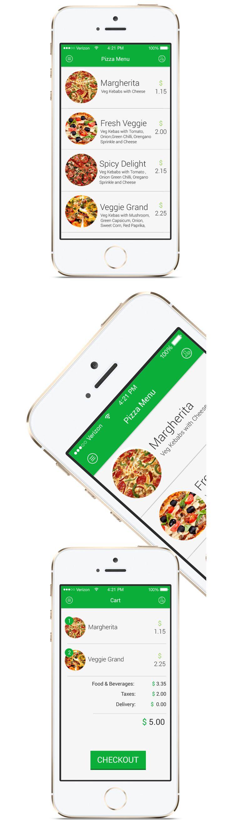 #iOS 7 Restaurant #App