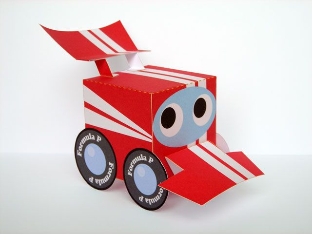 free box racing car party favour gift treat