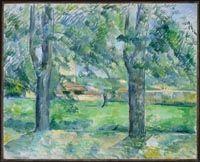 Cézanne, Paul - Prairie et ferme du Jas de Bouffan - Musée des Beaux-Arts du Canada, Ottawa