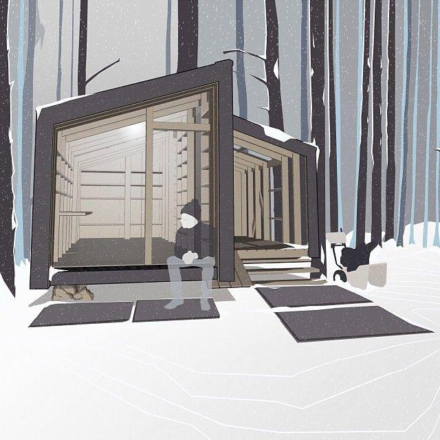 НОВОСТИ!!! Проект ДД-мастерской специально для художников ремесленников мастеров и садоводов!!! В летней и зимней (утеплённой) версии;) NEWS.NEWS.NEWS!!! Project of DD-studio especially for artists craftsmen and gardeners !!! In summer and winter (insulated) versions;). #дубльдом #dubldom #prebab #modular #modularhouse #studio #workshop #garden #сарай #бытовка #tiny #tinyhouse #cabin #shelter #tinyhut by dubldom