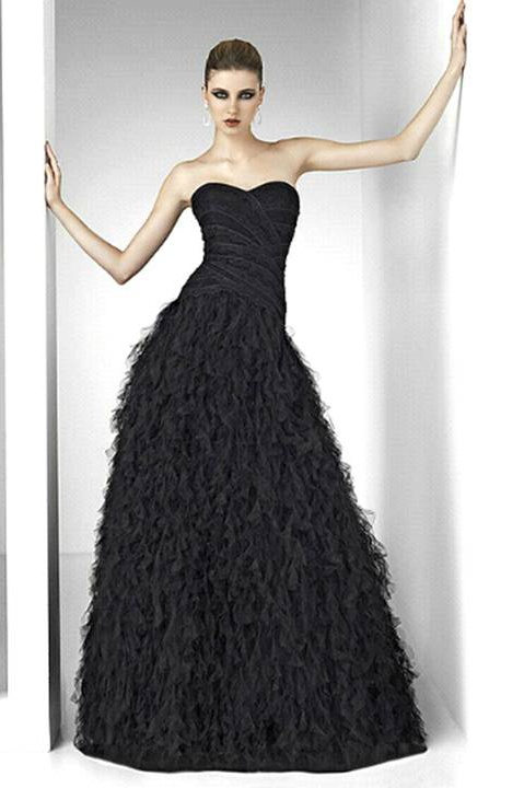 1000  images about Black wedding dress on Pinterest - Lace gowns ...