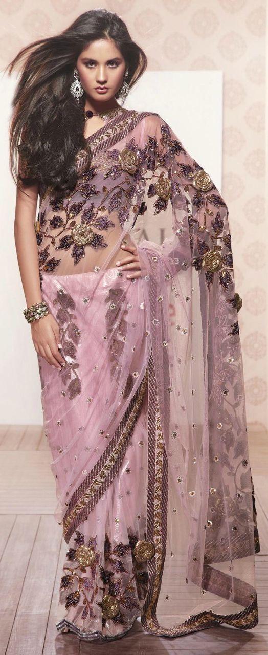 Purple-Pink Saree...gorgeous