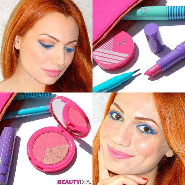 Trucco colorato e allegro creato dalla nostra Nancy con la collezione Miami Beach Babe @kikocosmeticsofficial - trovate il #video sul nostro canale #youtube  BeautydeaChannel. VI PIACE? #beautydea #bbloggers #beauty #makeup #instagood #instabeauty #beautyblogger #kiko #trucco #makeupartist #makeupaddict