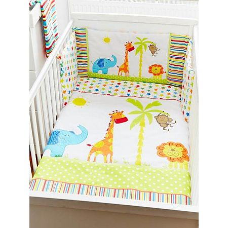 George Baby Jungle Friends Quilt And Per