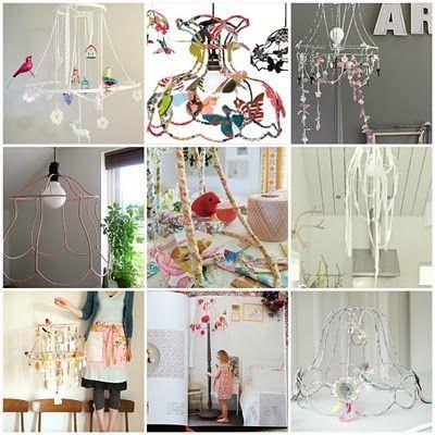 DIY lampshade ideas