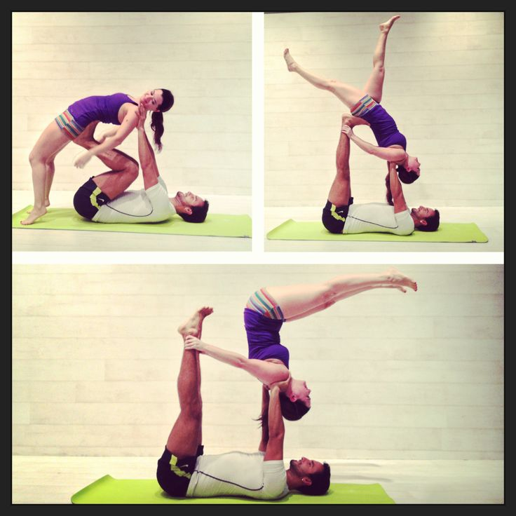 Acro Yoga How-To Demonstration Pssst....follow us!!! @yogiapproved