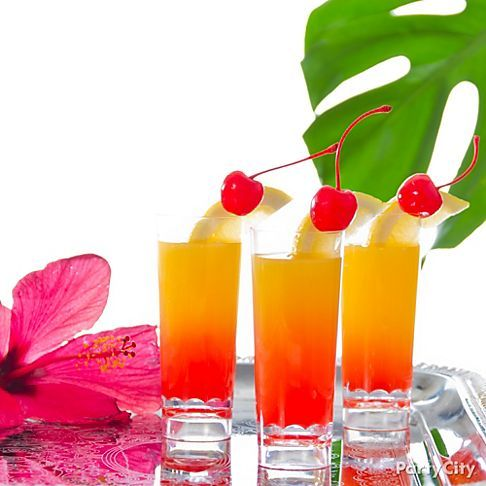 154 best images about summer party ideas on pinterest for Party drinks with tequila