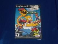 Simpsons Hit and Run PS2 game! Free Ship!