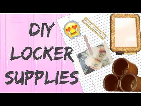 DIY LOCKER SUPPLIES 2016 | BTSWITHBIDHI | BIDHI KASU - YouTube trying to reach 200 subscribers! Help me out!