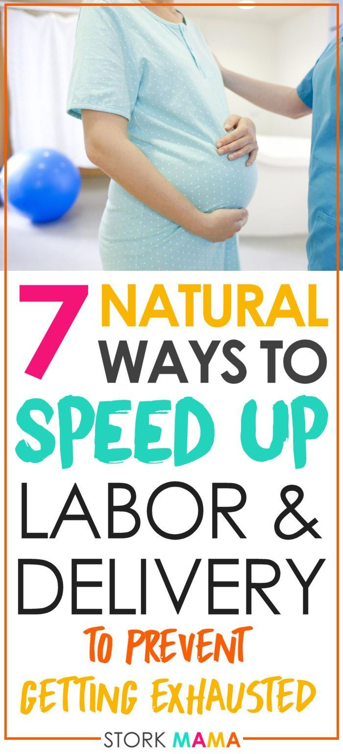 Looking for ways to have a quick and easy labor? Prevent having a stalled labor by follwoing these top tips. Starting in pregancy you can prepare for a quick, natural birth and prevent any medical intervention. 7 Natural Ways to speed up labor and delivery - Stork Mama.