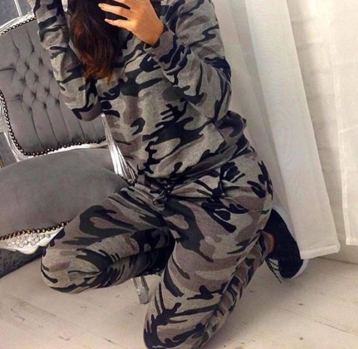 Need That Dress - Army Camo Knitted Tracksuit, £24.95 (http://www.needthatdress.com/army-camo-knitted-tracksuit/)