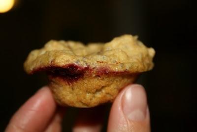 100% Whole Wheat Chia Seed White Chocolate Raspberry Muffins