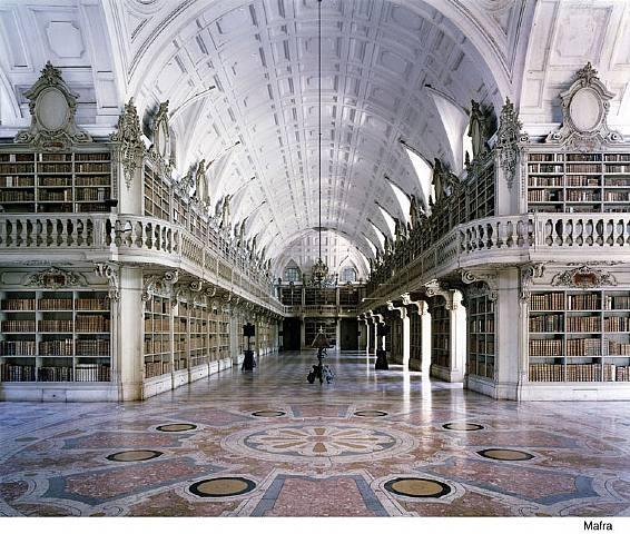 Biblioteca do Palacio e Convento de Mafra