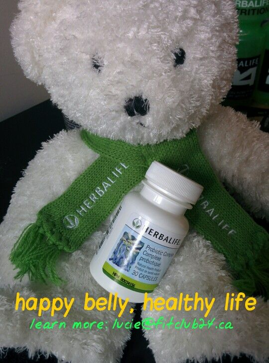 After illness, stressful periods, or antibiotics, re-set your digestive health with Herbalife probiotic. Ask me for details! I'm starting mine today :)