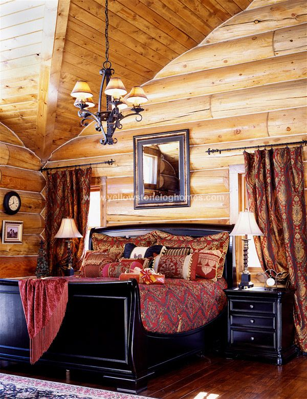 17 Best Ideas About Log Home Bedroom On Pinterest Log Cabin Bedrooms Log Home Decorating And