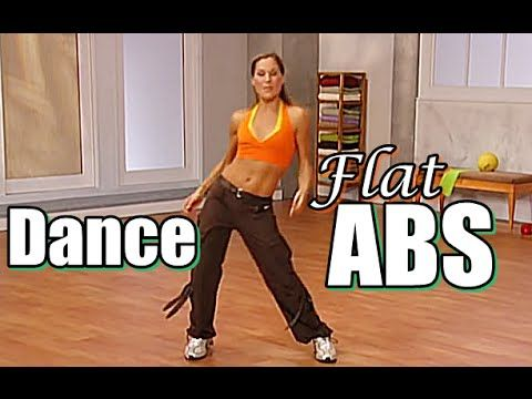 Dance Aerobic Workout - Belly Dance Abs For Flat Tummy