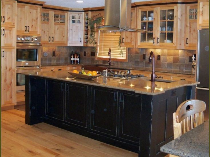 top-kitchen-distressed-kitchen-cabinets-and-26-61- - Best 25+ Black Distressed Cabinets Ideas On Pinterest Kitchen