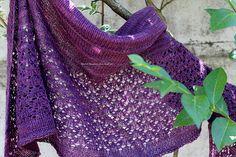 Free Pattern: Purple Dream Shawl