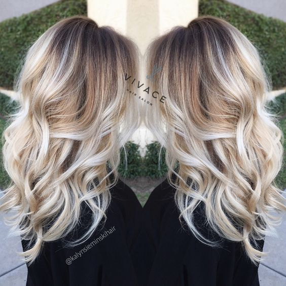 Deze 10 super mooie blonde Balayage kapsels met lang haar zijn echt het proberen waard! - Kapsels voor haar
