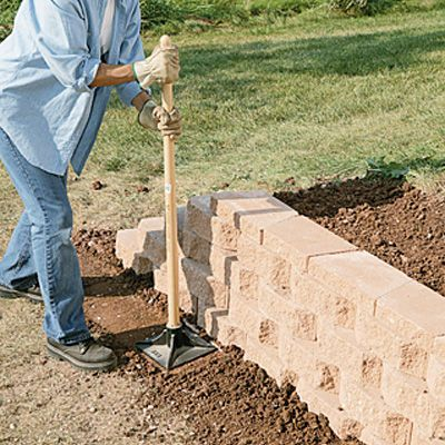 1000 Ideas About Landscaping Blocks On Pinterest Cheap Fire Pit Fire Ring