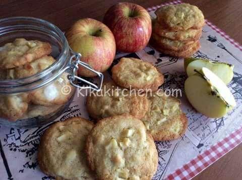 Biscotti cialde mele