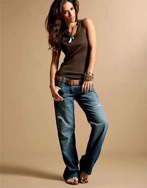 Boyfriend jeans- used to be my favorite before skinny jeans got popular! I miss em!