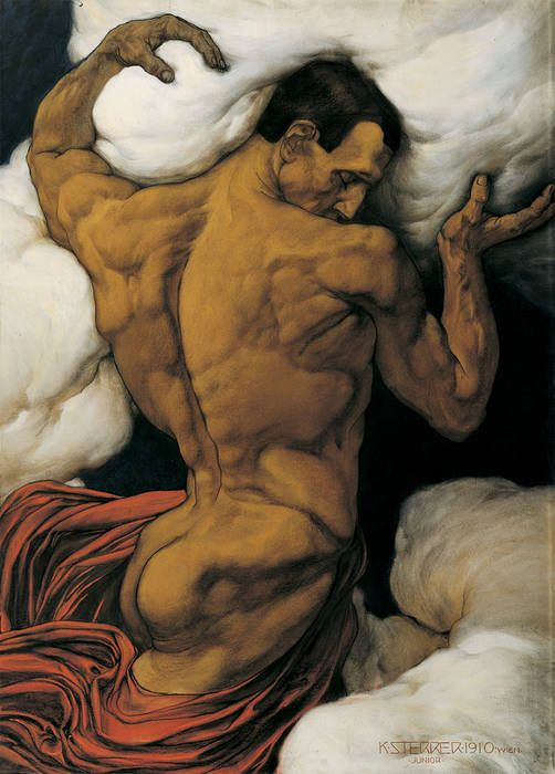 Atlas or The Tyran by Karl Sterrer (1910)