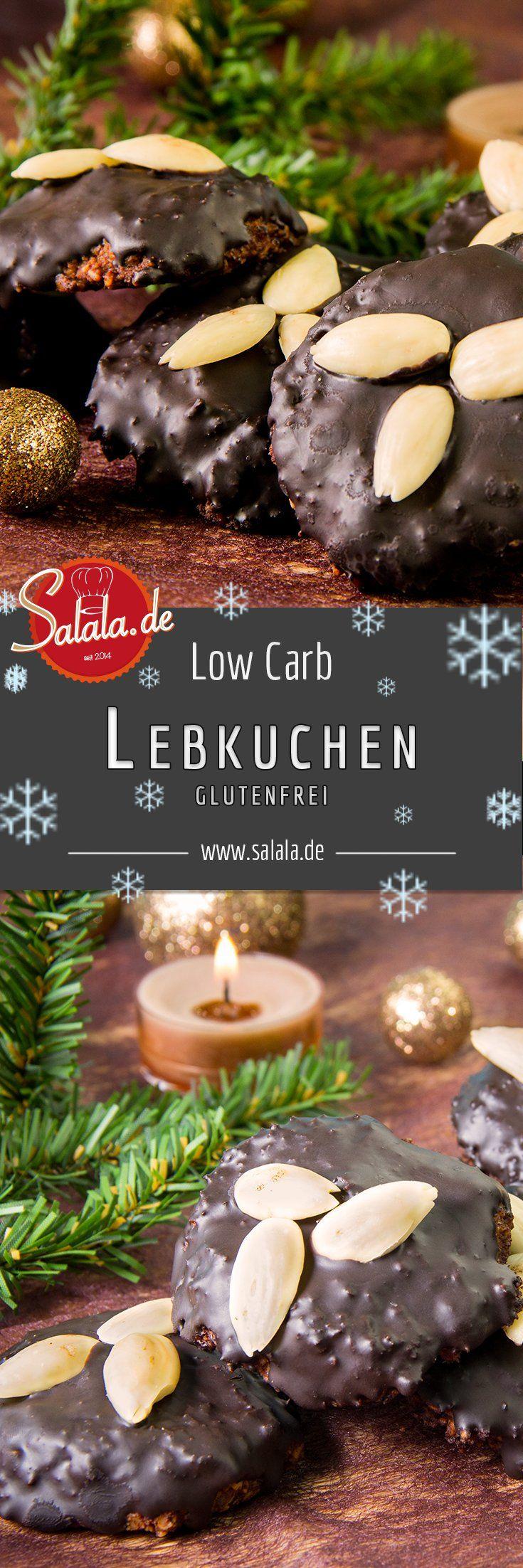 Nürnberger Lebkuchen Rezept Low Carb Weihnachtsbäckerei - salala.de - Ohne Lebkuchen ist Weihnachten einfach kein Weihnachten. Deshalb findest Du hier ein leckeres Low Carb Nürnberger Lebkuchen Rezept.
