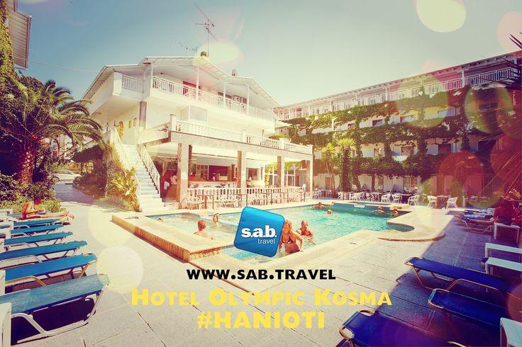 HIT PONUDA - #GRČKA HOTEL SA BAZENOM 10 Punih pansiona + bus prevoz + osiguranje = 249 eur!!! Hotel Olympic Kosma 3*- #Hanioti  Važi za period: 03.06-13.06.2015.  *Jedno dete od 2-12 god. ili dvoje dece od 2-7.god – GRATIS (u pratnji dve odrasle osobe) http://www.sab.travel/ponuda/letovanje/olympic-kosma-specijalna-ponuda  POZOVITE ODMAH: Deligradska 9, 11000 Beograd www.sab.travel +381 11 30 65 350 office@sab.travel #sabtravel #leto2015 #letovanje
