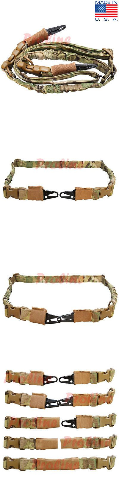 Tactical Slings 177901: Multi-Cam Cbt Tactical 2 Point Bungee Rifle Sling Shoulder Strap Made In Usa -> BUY IT NOW ONLY: $38.99 on eBay!