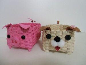かわいい「かご」で作り方をマスター!~平編み