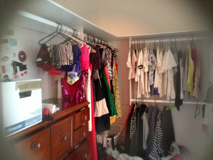 Wardrobe needs some love and clean up time