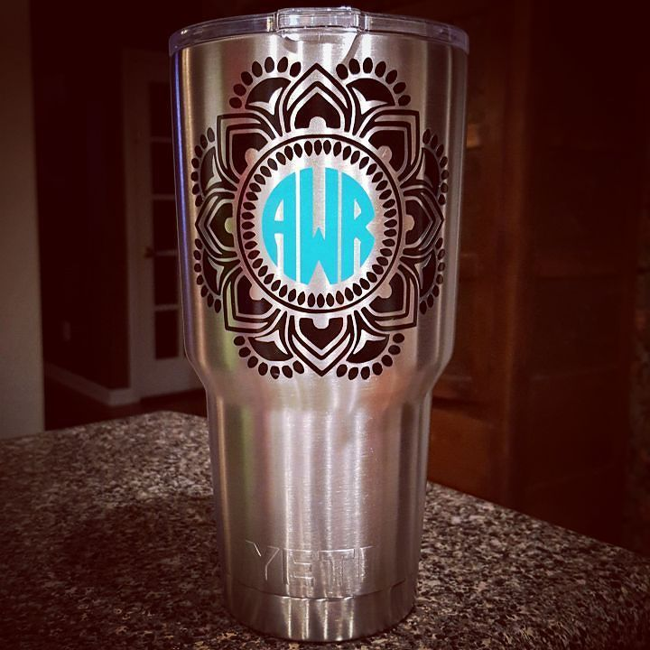 Best Cricut Personalized Misc Images On Pinterest Vinyl - How to make vinyl monogram decals with cricut