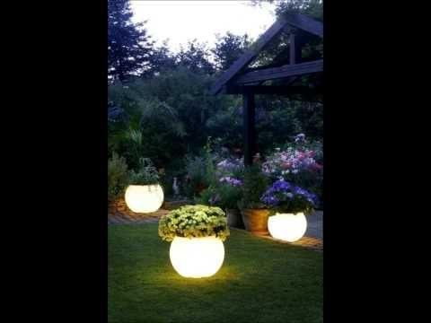 GLOW IN THE DARK FLOWER POT YouTube Home Projects For The Just Barely Ept