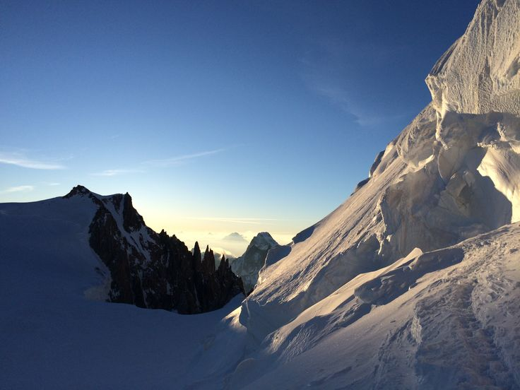 Mont-blanc ski