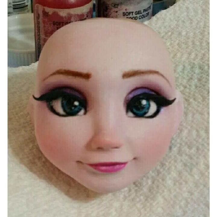 Disney Frozen Elsa face