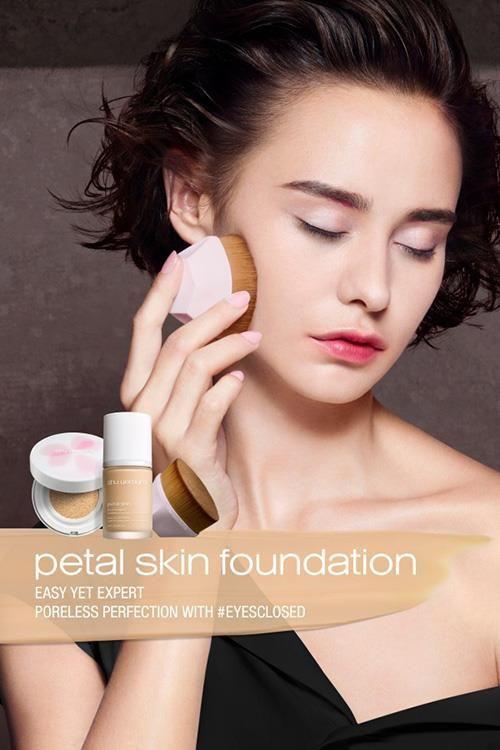 Shu Uemura Petal Skin Cushion Foundation Spring 2018 Beauty Hair