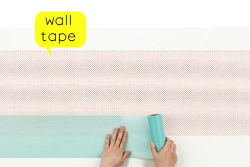 So here's the new generation of wall papers. Basically SINCOL x mtis like a giant washi tape that allows you to turn a wall into a canvas. The possibilities are endless ;)