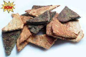 Protein Tortilla Chips - With Salsa & Nacho Stuff - Protein Pow