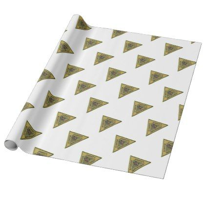 Riverside County Sheriff K-9 Wrapping Paper - law gifts lawyer business diy cyo personalize