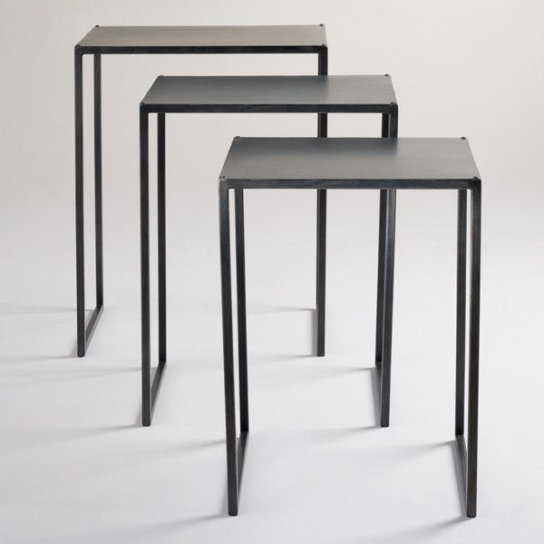 Cost Plus World Market Ashton Nesting Tables   150  via Polyvore featuring  home  furniture. Best 25  World market furniture ideas on Pinterest   World market