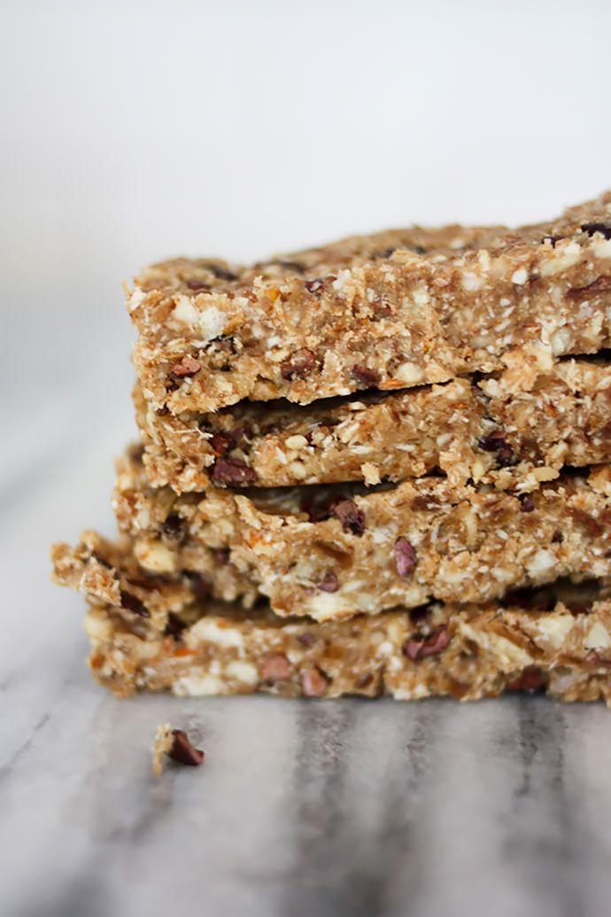Chocolate Coconut Energy Bars   Foodie   Pinterest